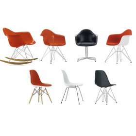 Plastic Armchair et Plastic Side Chair - Eames – Vitra