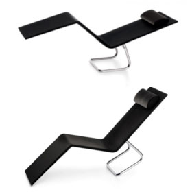 MVS Chaise (cuir ou version outdoor) - Maarten Van Severen - Vitra