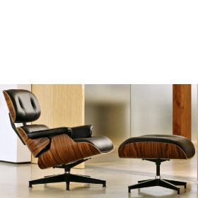 Lounge chair et Ottoman  - Charles & Ray  Eames – Edition Vitra