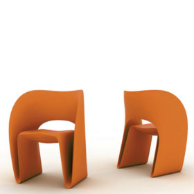 Raviolo chair (existe en version outdoor) – Ron Arad – Magis