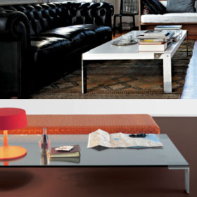 Liko rectangulare table – Arik Levy – Desalto